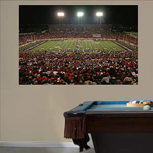 Texas Tech Red Raiders - Stadium Mural Fathead Wall Decal